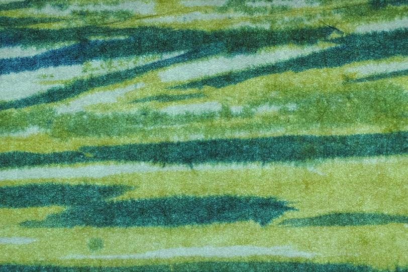 深縹色と苗色の柳絞り和紙の写真画像