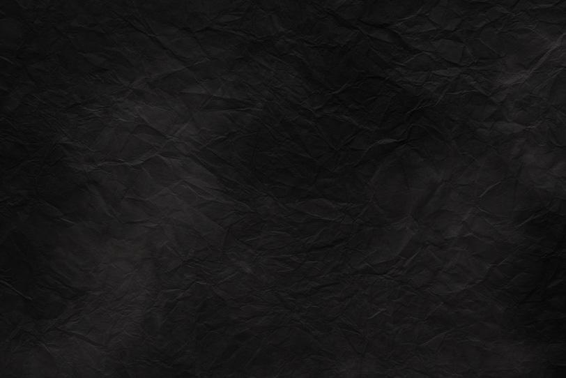 黒い暈しが入った漆黒色の和紙の写真画像