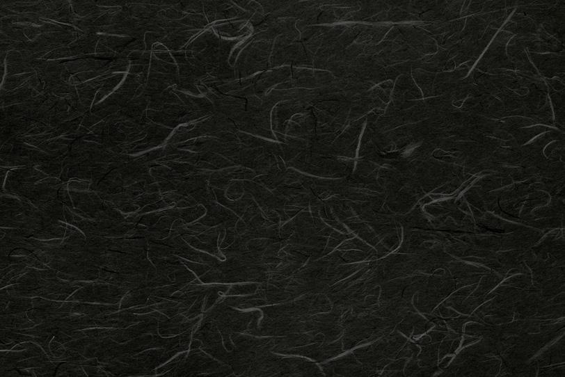 黒の地に白楮が美しい和紙の写真画像