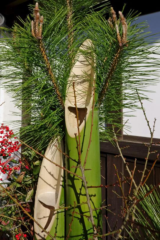 正月の門松の写真画像
