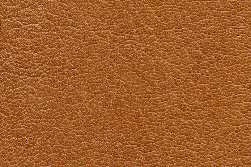 細かい模様が美しい茶色いレザーの写真画像
