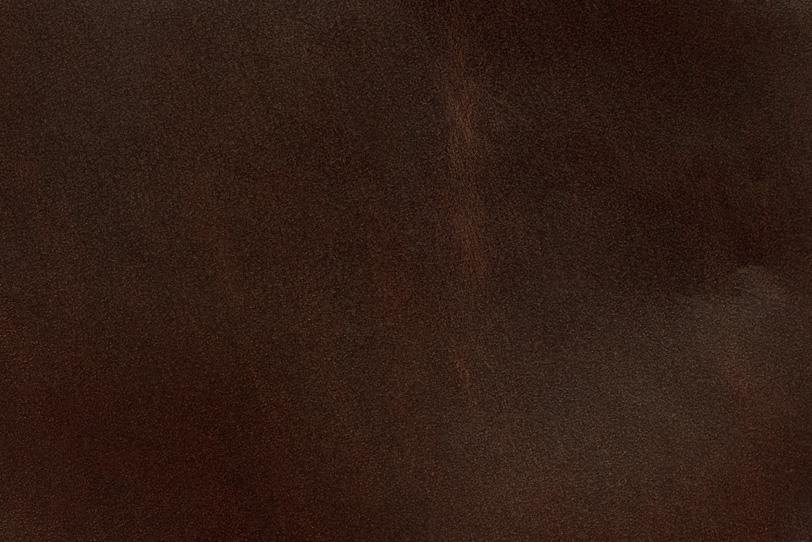 古い赤茶色のコードバン素材の写真画像