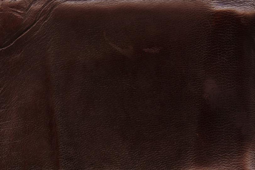 長年使われた味のある革の写真画像