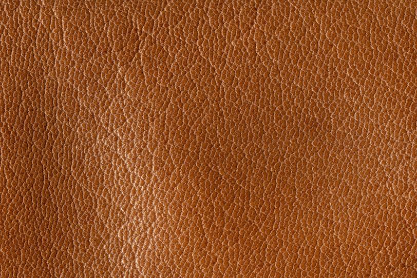 茶色い牛皮の素材の写真画像