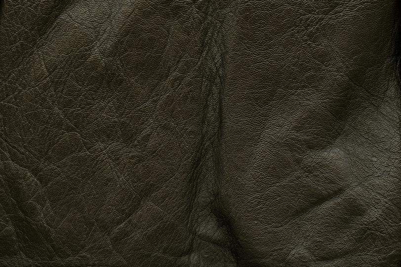 黒い牛革のテクスチャの写真画像