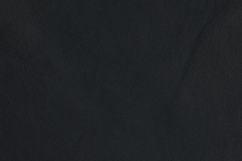 エンボス加工した黒いレザーの写真画像