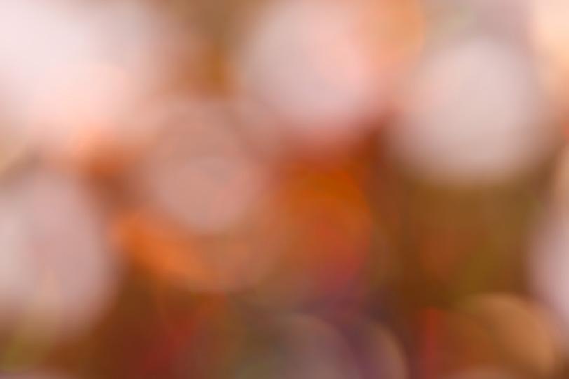 やわらかい光のボケの写真画像