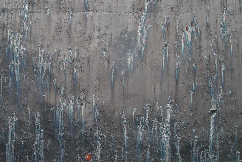 汚れた金属の荒廃した背景の写真画像