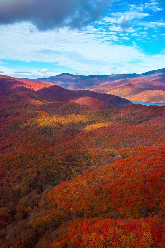 「四季の山」の写真素材を無料ダウンロード