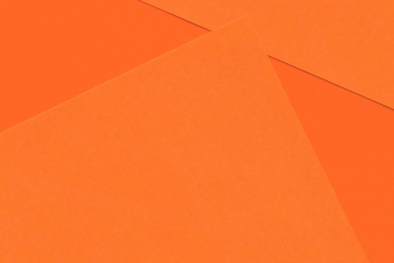 オレンジのシンプルな無地画像
