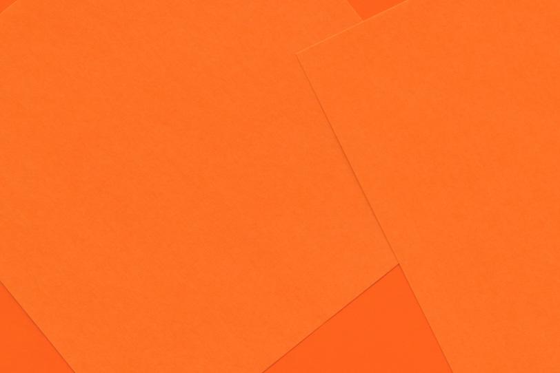 オレンジのシンプルでカワイイ素材