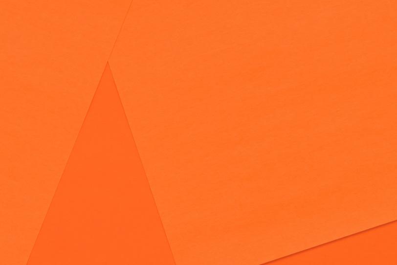 オレンジのシンプルでカッコイイ背景