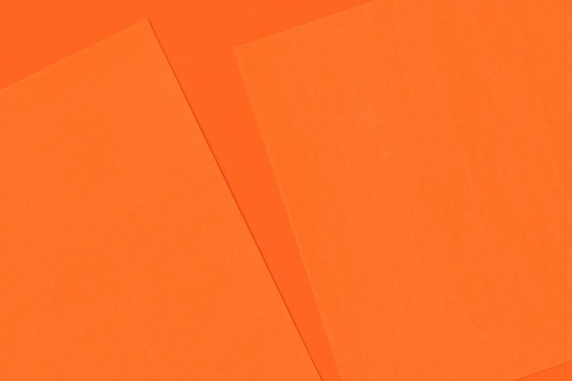 オレンジのシンプルでオシャレな画像