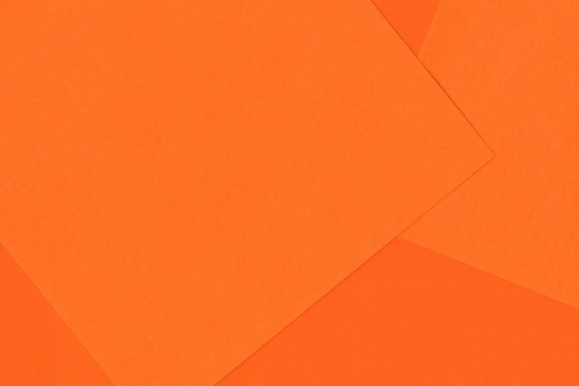 オレンジのシンプルでクールな写真