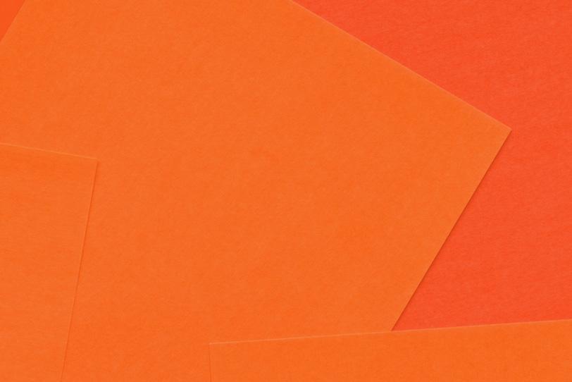 オレンジのシンプルできれいな背景