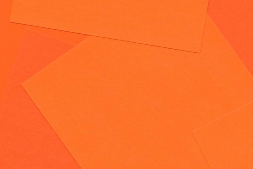 シンプルなオレンジのかっこいい壁紙