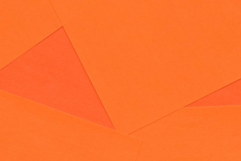 シンプルなオレンジのテクスチャ画像