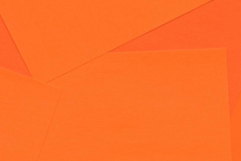 シンプルなオレンジの綺麗な画像