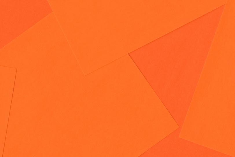 シンプルなオレンジの無地壁紙