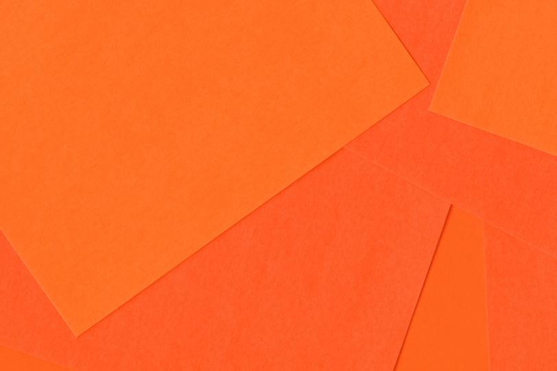シンプルなオレンジのフリー素材