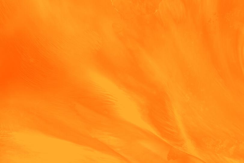 オレンジ色のおしゃれなフリー背景