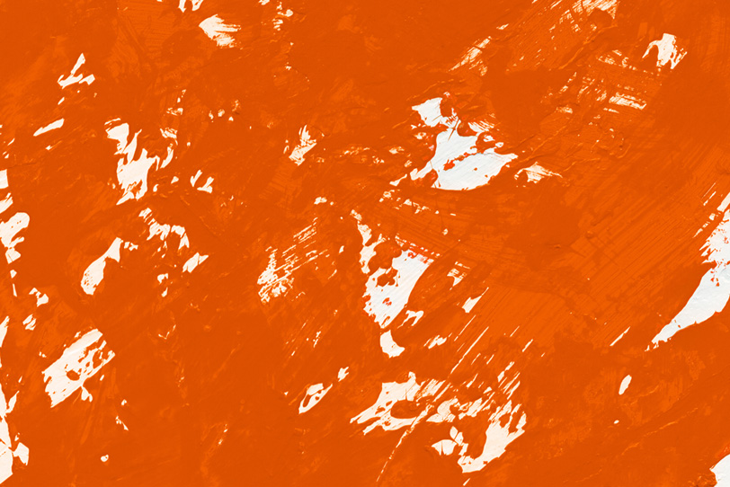 シンプルなオレンジ色のフリー背景