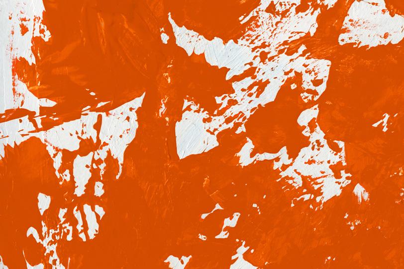 オレンジの背景でカッコイイ壁紙