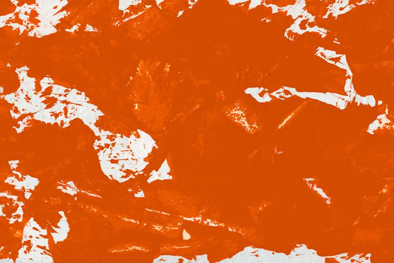 オレンジの背景でオシャレな画像