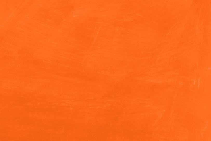 オレンジ色の無地のフリー背景
