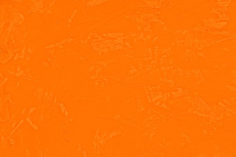 オレンジの無地でクールな写真