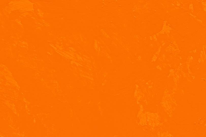 オレンジの無地のテクスチャ壁紙