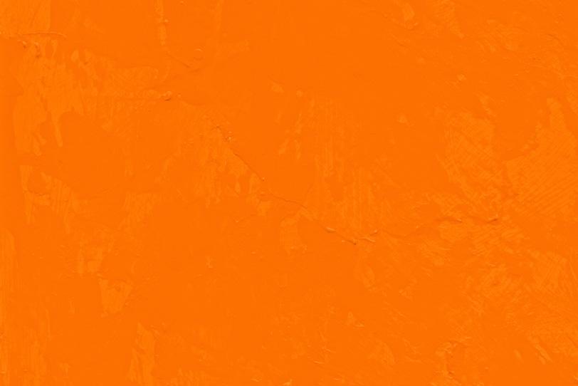 オレンジの無地できれいな背景