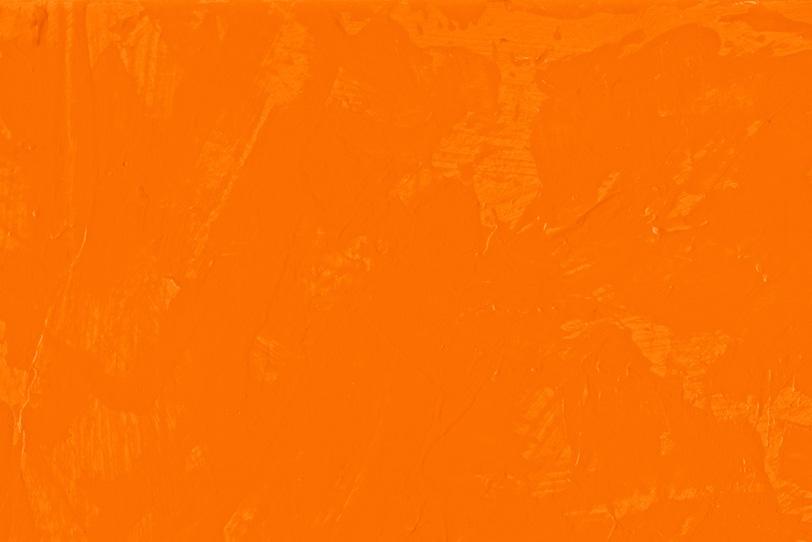 オレンジの無地のフリー画像