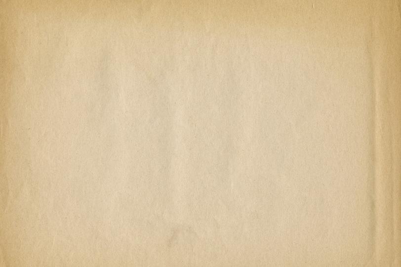 縁が焼けた茶色く古い紙の写真画像