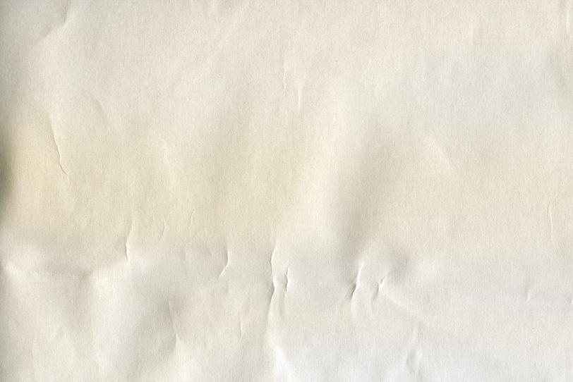 ダメージのある白い紙の写真画像