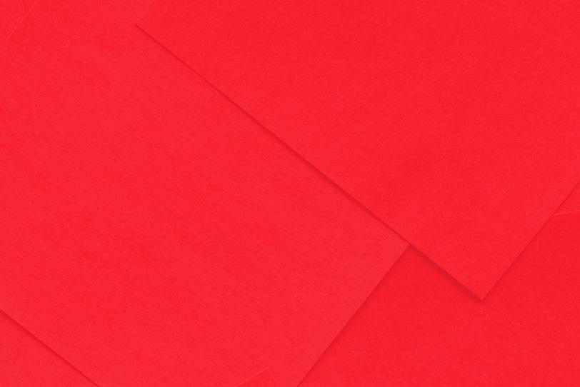 かわいい赤色のシンプルな画像