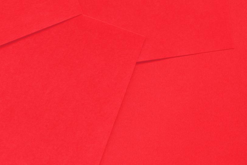 赤のシンプルでカワイイ素材
