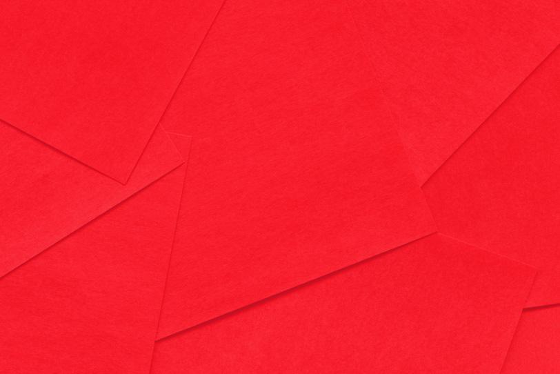 赤のシンプルでオシャレな画像