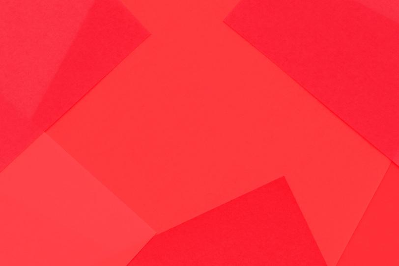 赤のシンプルなフリー画像