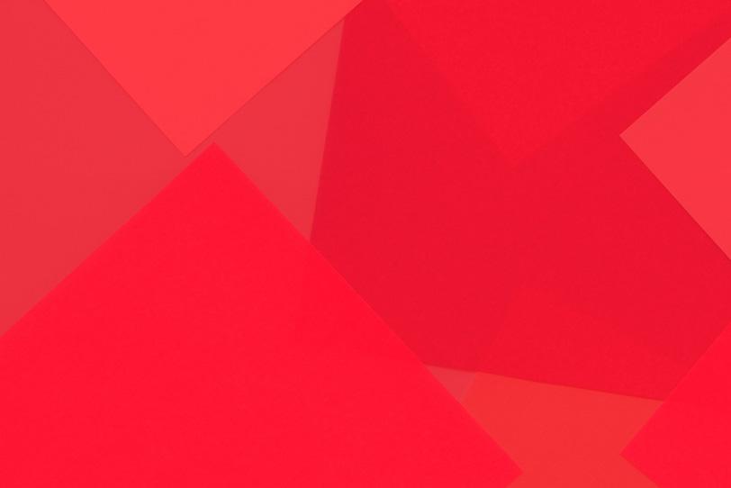 シンプルな赤の無地壁紙