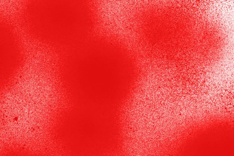 赤の背景でオシャレな画像