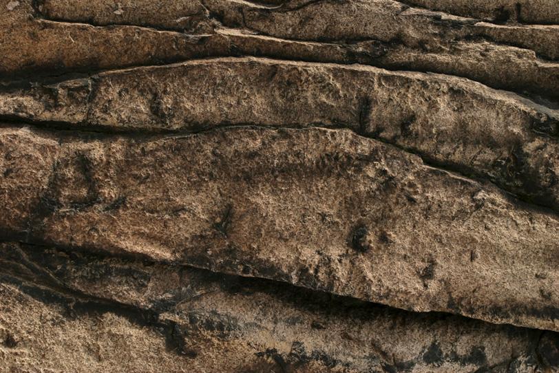 波のような岩の質感の写真画像