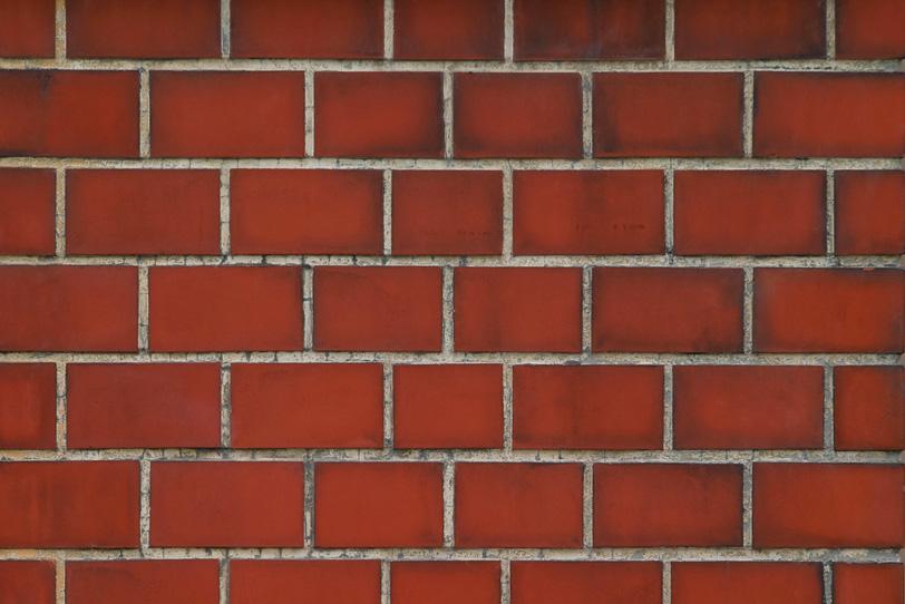 綺麗な赤いレンガ壁の写真画像
