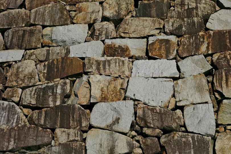 石壁のテクスチャ素材の写真画像