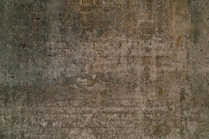 レンガとコンクリートで出来た石壁の写真画像
