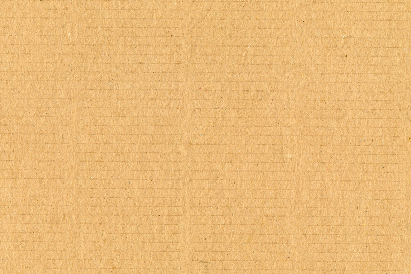 ダンボールのテクスチャ素材の写真画像