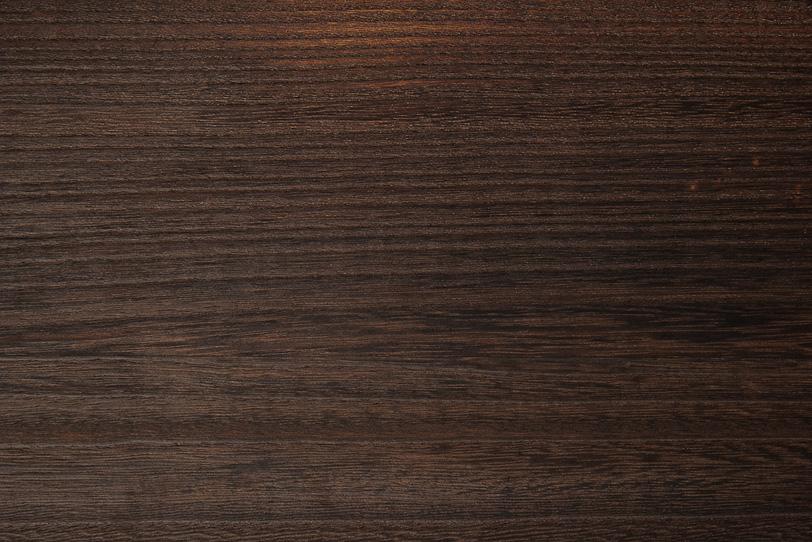 美しい木目の焦茶色の木の写真画像