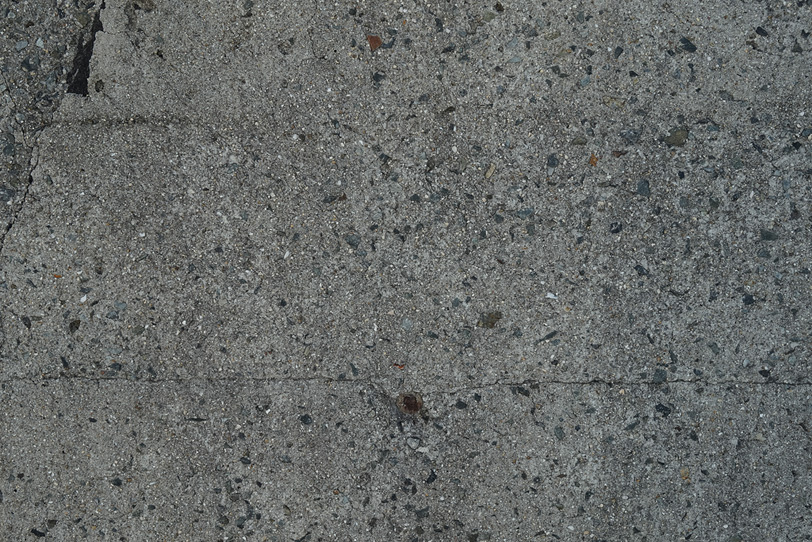 コンクリートのクラックの写真画像