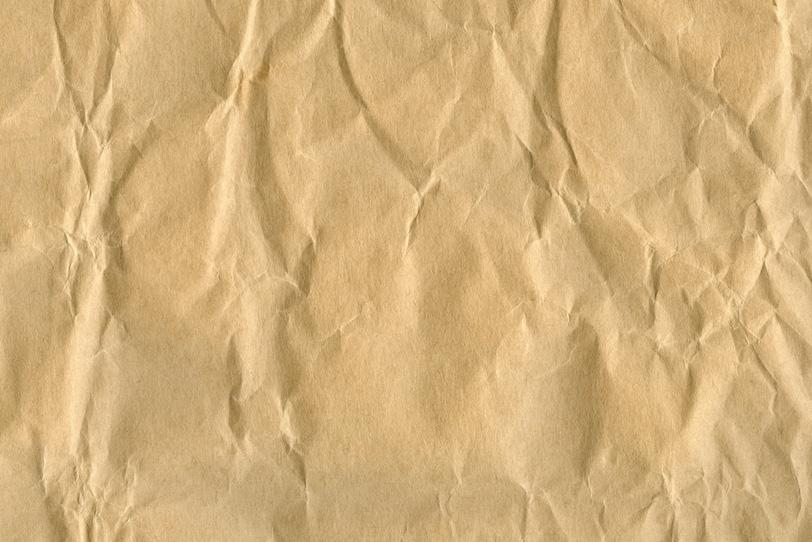 素朴な風合いの茶色い紙の写真画像