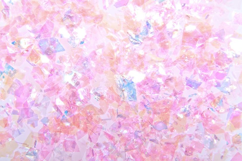 可愛らしいピンクのキラキラの写真画像